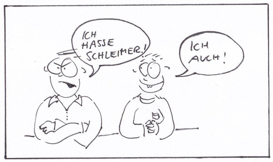 Schleimer mittel
